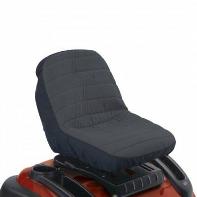 Classic Accessories 12324 Deluxe Riding Lawn Mower Seat Cover, Medium New