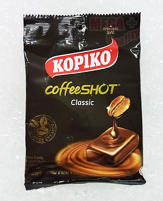 KOPIKO CANDY 9 x 3 GRMS A RICH TASTING AROMATIC STRONG COFFEE BEANS