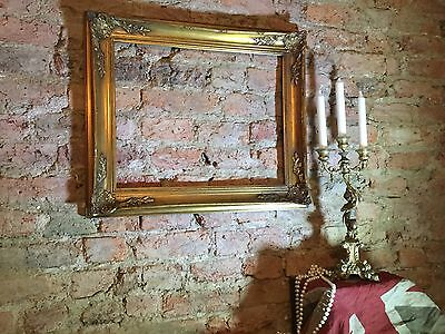Vintage Picture Frame / Photo Frame Baroque Style with Ornate Corner Detail