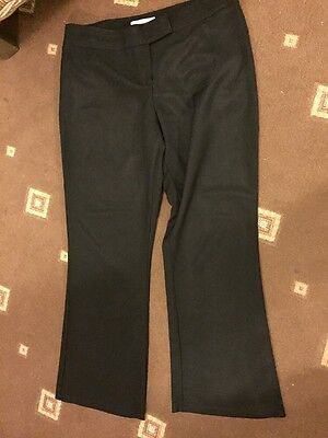 Women's Black Trousers Size 16