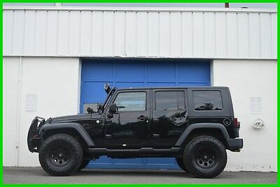2010 Jeep Wrangler Sport Unlimited Hard Top Lifted Off Road Ready ++ Repairable Rebuildable Salvage Runs Great Project Builder Fixer Easy Fix Save
