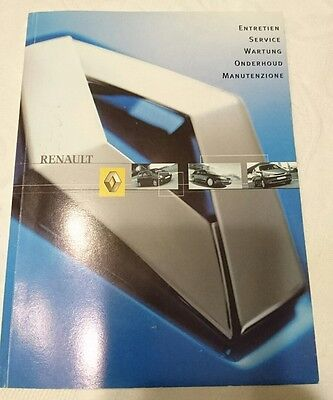 Owners Manuals / Service Books etc. in Wallet Pack Renault Clio MK2 II 98-06