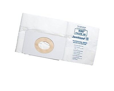 Janitized JAN-NSSP30-2(3) Premium Replacement Commercial Vacuum Paper Bag for
