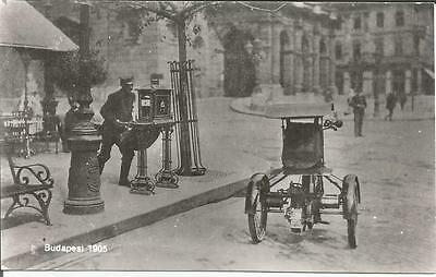 Letter Box Study Group 'Budapest 1905' Reproduced Photograph  Postcard Post Card