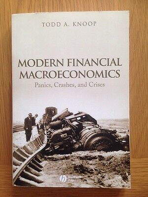 NEW Modern Financial Macroeconomics by Todd A. Knoop BOOK (Paperback)