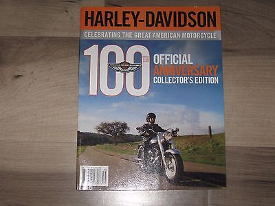Harley Davidson 100Th Anniversary Official Collectors Edition Magazine
