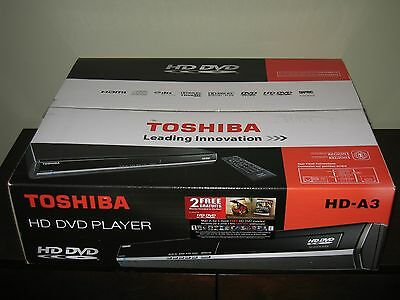 Toshiba HD-A3 HD-DVD Player - *NEW* in original packaging