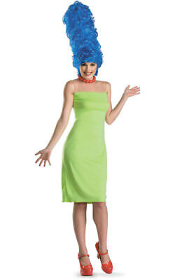 The Simpsons Marge Deluxe Womens Adult Fancy Dress Halloween Costume