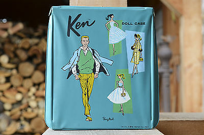 Ken (Barbie Family) Carrying Case with lots of clothing