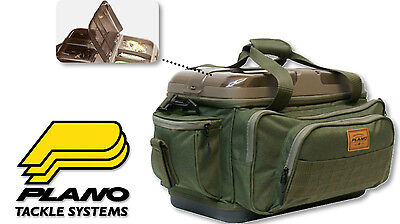 Plano 473600 A Series Fishing Tackle Bag Size 3600 Softsider System + 4 boxes