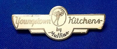 Rare 1940's 50's Youngstown Kitchens by Mullins Badge, 6 Pulls, Spacers, Screws
