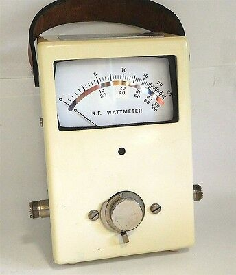 New Unused Dielectric Tech 1000-A In-Line Rf  Wattmeter -  Fitted Hard Side Case