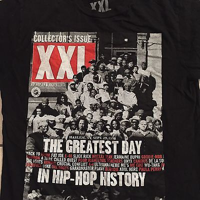 Rare Xxl Magazine Cover T Shirt Men's  Rap Hip Hop Tupac Gangsta