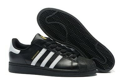 Adidas Originals Shoes Superstar Foundation Black FTW White FREE POST Sneakers