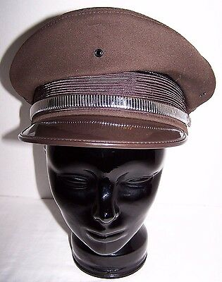 Vintage Service Station/yellow Cab Taxi Kant-Krack Attendant Cap 7 1/4 Flawless