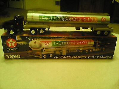 Texaco 1996 Olympic Games Toy Tanker #3 Collector Series Truck NEW