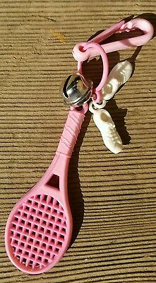 VINTAGE 80's Girls Fashion Jewelry Zipper Pulls Gumball Toy Prizes Key Chain
