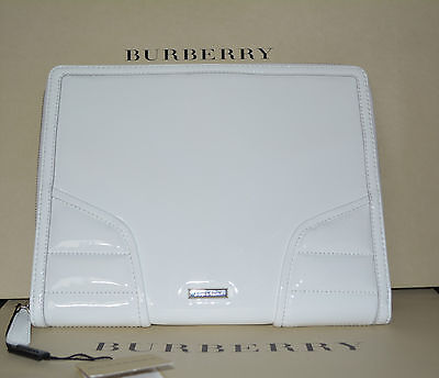 abc598ec0ad Nwt Burberry  425 Patent Quilt Leather Tablet Ipad Computer Sleeve Case