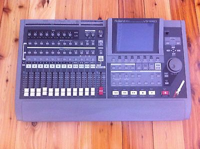 Roland VS-1680 V-Xpanded (Multi-Track Digital Recorder Mixer) with Dust Cover