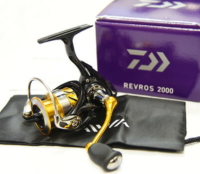 2015 NEW Daiwa REVROS 2000  Spinning Reel