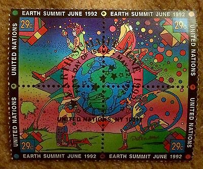 1992 United Nations Earth Summit Stamp Set