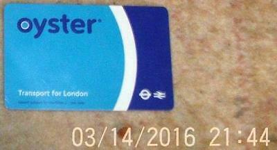 Oyster Card  Balance -25p unregistered