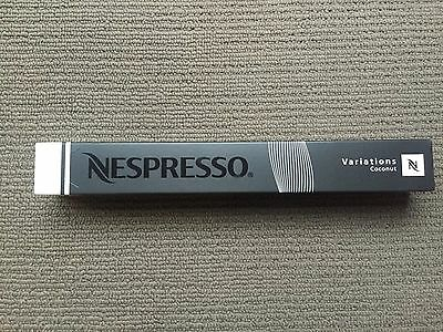 Brand New Nespresso 2012 Limited Edition Capsules - Coconut