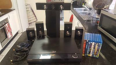 Samsung HT C5900 5.1 3D Blu-ray Player Home Theatre System + Extras