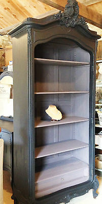 French crested armoire/ French linen cupboard