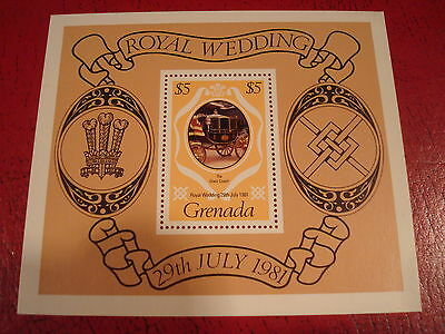 Grenada - 1981 Royal Wedding - Minisheet - Unmounted Mint - Ex. Condition