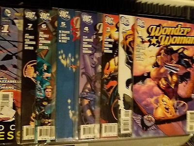 Dc Wonder Woman #1-7 2006 Nm And #1 New 52 Essentials 8 Issues