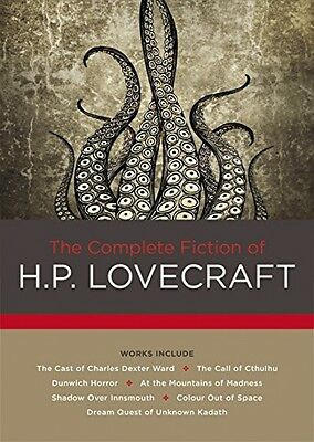 The Complete Fiction of H. P. Lovecraft, New, Free Shipping