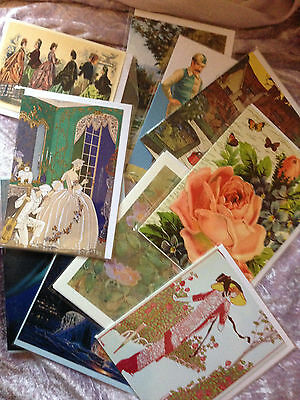 Job Lot of 30 Greetings Cards Individually Wrapped - mixed designs