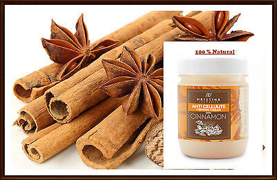 Hristina Cosmetics Anti Cellulite Firming Cream With CINNAMON 100%Natural 200 ml