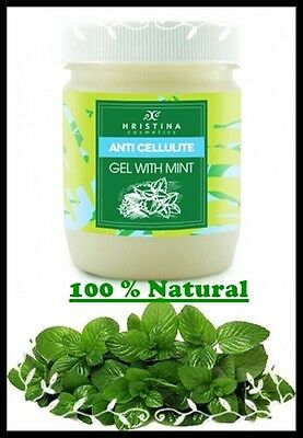 HRISTINA Cosmetics Anti Cellulite Gel With Mint For Very Sensitive Skin 200 ml