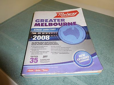 MELBOURNE Street Directory Melway Edition 35 - 2008
