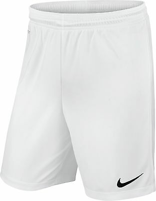 Shorts Football/ Soccer Nike Park Ii Mens S- Xxl White Genuine Nike Product