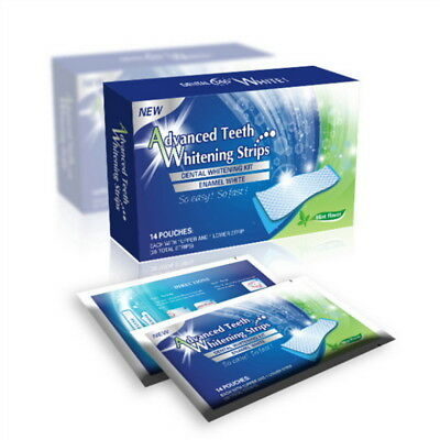 28 Blanco efectos Dentales Whitestrips Advanced Blanqueamiento Dental Tiras raya