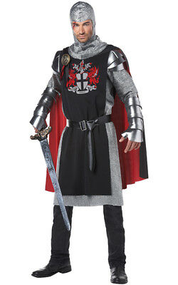 Medieval Knight Renaissance Adult Mens Game Of Thrones Fancy Dress Costume