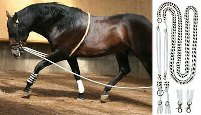 Cotton Lunge Aid - Large Size (WB/Cob) For Up to Withers Height 149cm -168cm