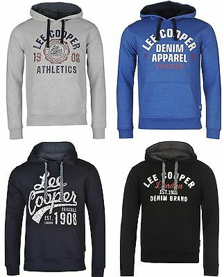 LEE COOPER Sweat Pull Capuche Homme - neuf, original