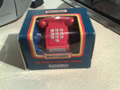 1980S Vintage Matchbox Direct Line Talking Phone Boxed  No Reserve!