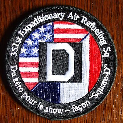 USAF US Air Force Uniform velcro  Patch Badge - 351st Exp.Air refueling Sq.