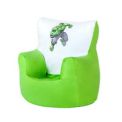 Hulk Marvel Avengers Children's Kids Bean Bag Chair Seat Boys Toddler Beanbag TV