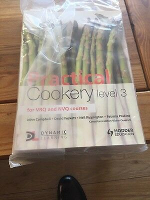 Brand New Practical Cookery Level 3 Book NVQ And VRQ
