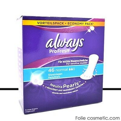 Always ProFresh - 46 Protège-Slips - Normal