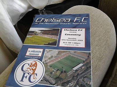 chelsea v coventry 01.02 reserves barclays lge