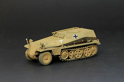 Finished Product S-Model CP0262 1/72 Sd Kfz 253 Le Beob Pz Wg Desert Paint