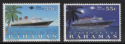 Bahamas Sg1146/7 1996 Castaway Cay Holiday Development Mnh