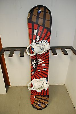 Elan RS Rocker 147 cm Snowboard + BRAND NEW Lamar Siren Bindings